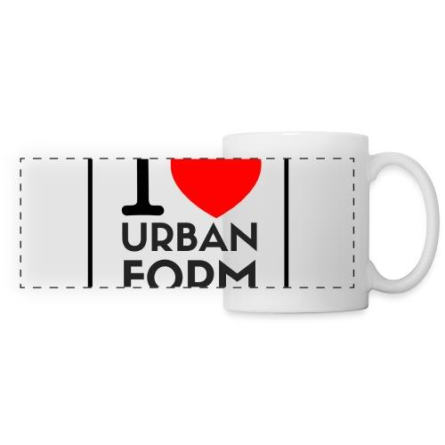 I LOVE URBAN FORM - Mug panoramique contrasté et blanc