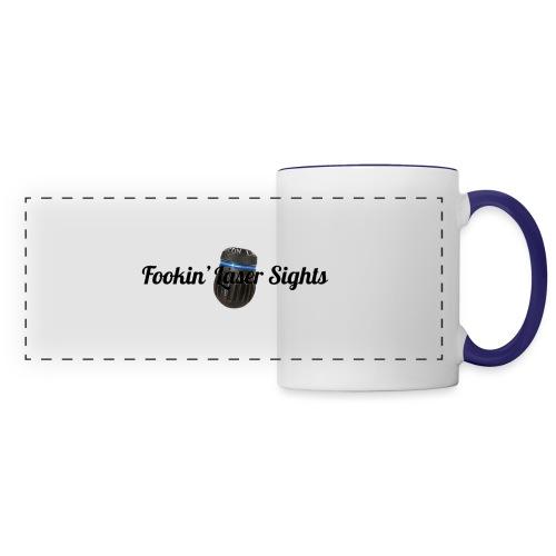 'Fookin' Laser Sights' - Panoramic Mug