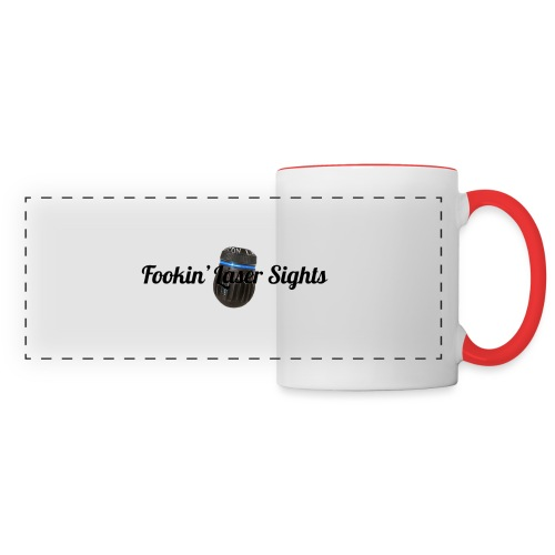 'Fookin' Laser Sights' - Panoramic Mug