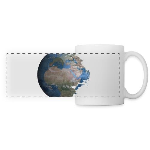 Death Earth - Mug panoramique contrasté et blanc
