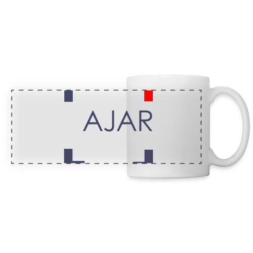 AJAR Logo - Mug panoramique contrasté et blanc