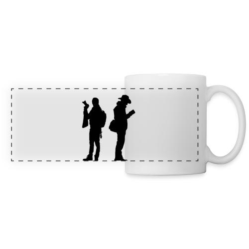 Nous black - Mug panoramique contrasté et blanc