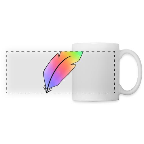 plume - Mug panoramique contrasté et blanc
