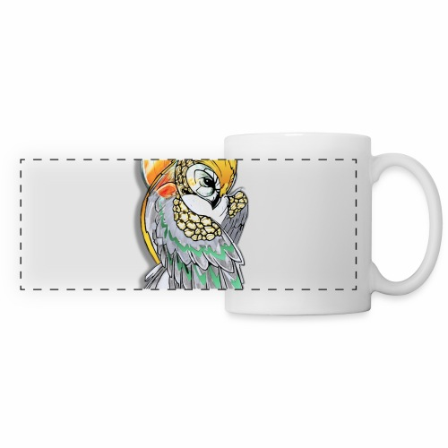 Cosmic owl - Taza panorámica