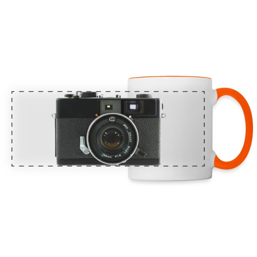 Vintage Camera Auto S3 - Tazza panoramica