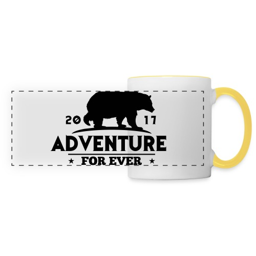 ADVENTURE FOR EVER - GRIZZLY - Tazza panoramica