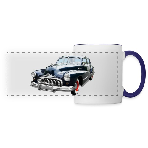 Classic Car. Buick zwart. - Panoramamok