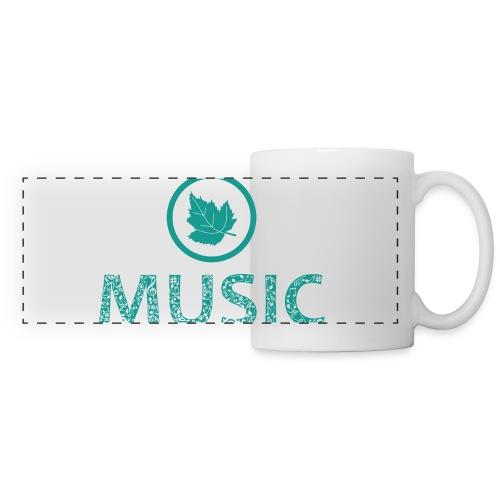 leaf music - Panoramic Mug