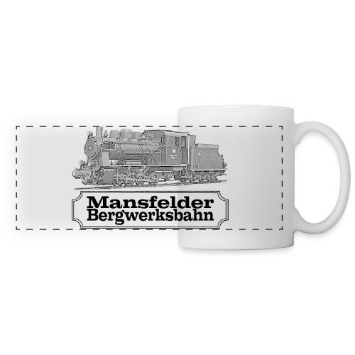 mansfelder bergwerksbahn dampflok 2 - Panoramatasse