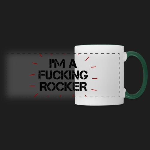 I'M A FUCKING ROCKER - Tazza panoramica