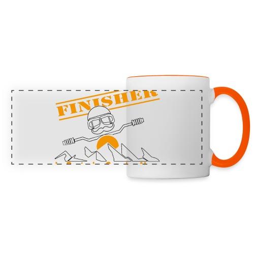 Finisher motofree - Mug panoramique contrasté et blanc