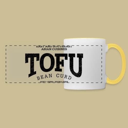 Tofu (black oldstyle) - Panoramatasse