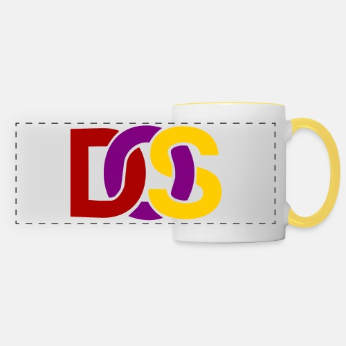 Retro MS DOS Logo - Panoramic Mug