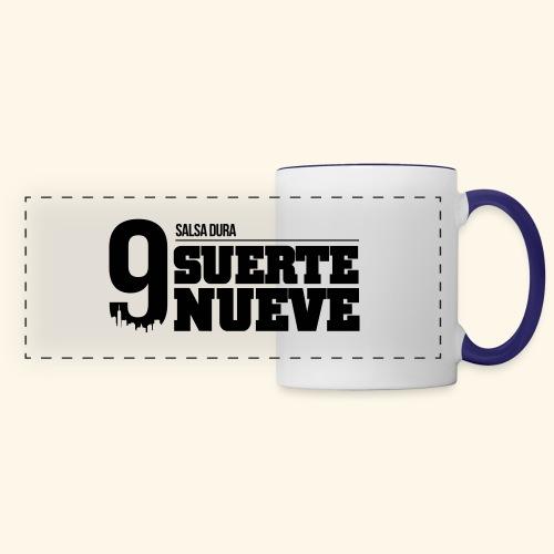 Logo Suerte - Mug panoramique contrasté et blanc