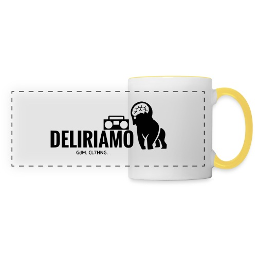 DELIRIAMO CLOTHING (GdM01) - Tazza con vista