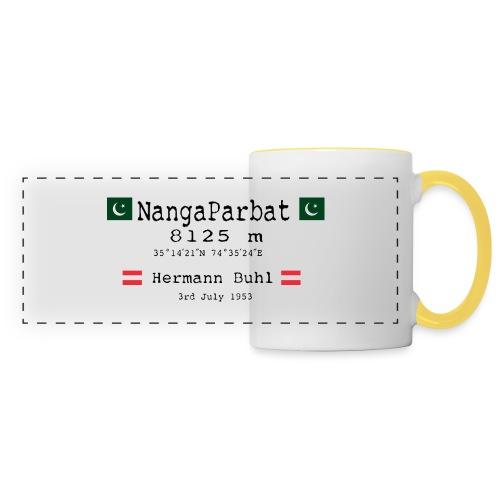 NangaPArbat20-01Black - Tazza con vista