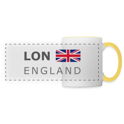 LON ENGLAND BF dark-lettered 400 dpi - Panoramic Mug