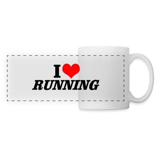 I love running - Panoramatasse