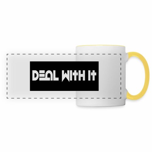 Deal With It products - Panoramic Mug