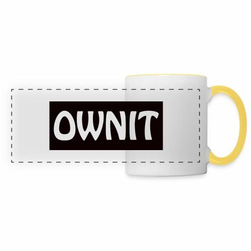 OWNIT logo - Panoramic Mug