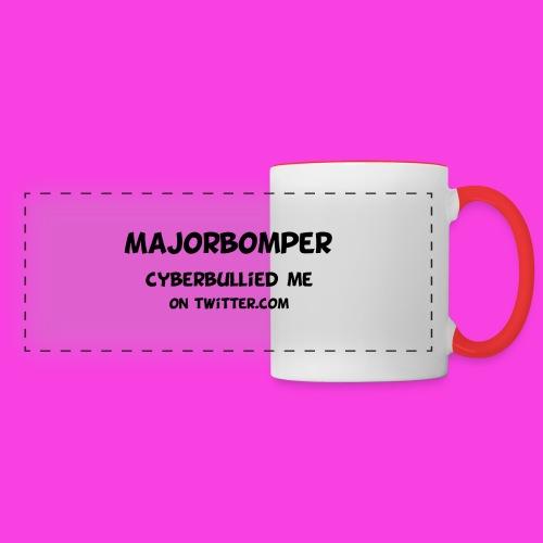 Majorbomper Cyberbullied Me On Twitter.com - Panoramic Mug