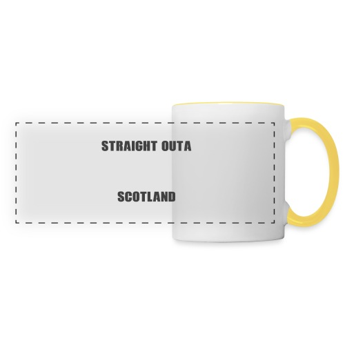 Straight Outa Scotland! Limited Edition! - Panoramic Mug