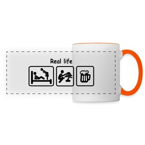 picot_Bonsaï real_life - Mug panoramique contrasté et blanc