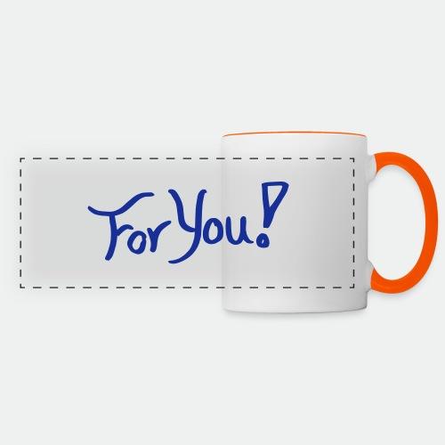 for you! - Panoramic Mug