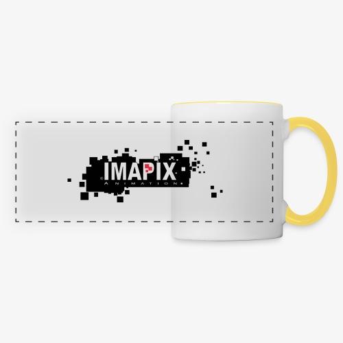 IMAPIX ANIMATION Rectro02 - Mug panoramique contrasté et blanc