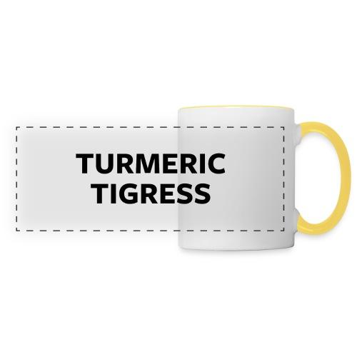 Turmeric Tigress - Panoramic Mug