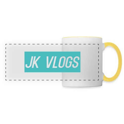JK Vlogs Logo 2 - Panoramic Mug