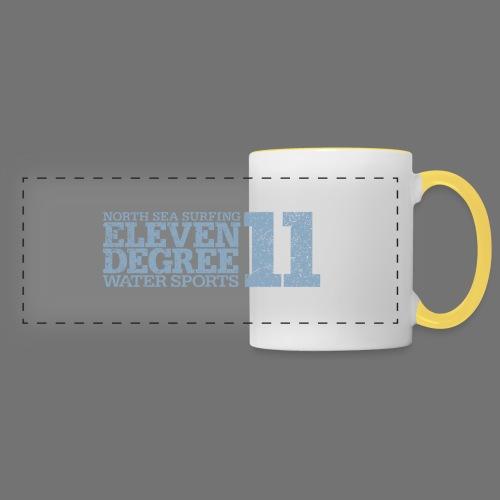 eleven degree light blue (oldstyle) - Panoramic Mug