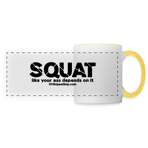 squat - Panoramic Mug