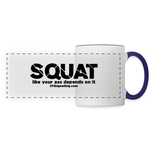 squat - Panoramic Mug