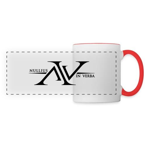 Nullius In Verba Logo - Panoramic Mug