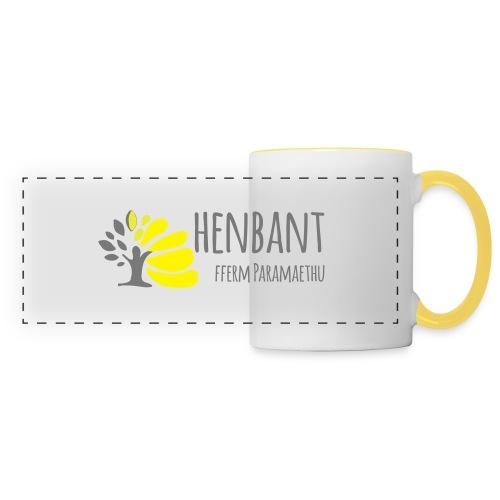 henbant logo - Panoramic Mug