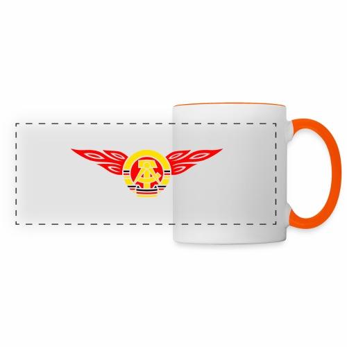 GDR flames crest 3c - Panoramic Mug