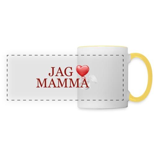 Jag älskar mamma - Panoramamugg