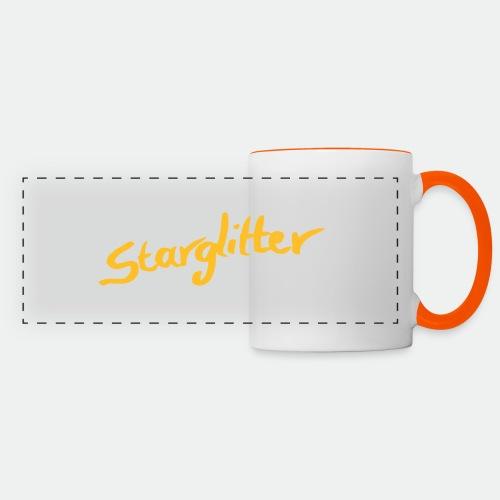 Starglitter - Lettering - Panoramic Mug