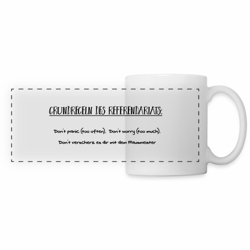 Grundregeln des Referendariats - Panoramatasse