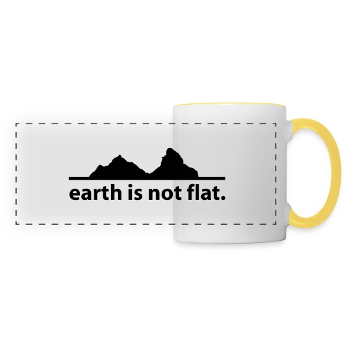 earth is not flat. - Panoramatasse