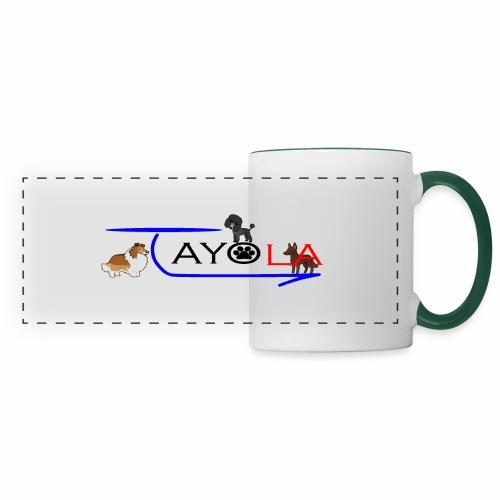 Tayola Black - Mug panoramique contrasté et blanc