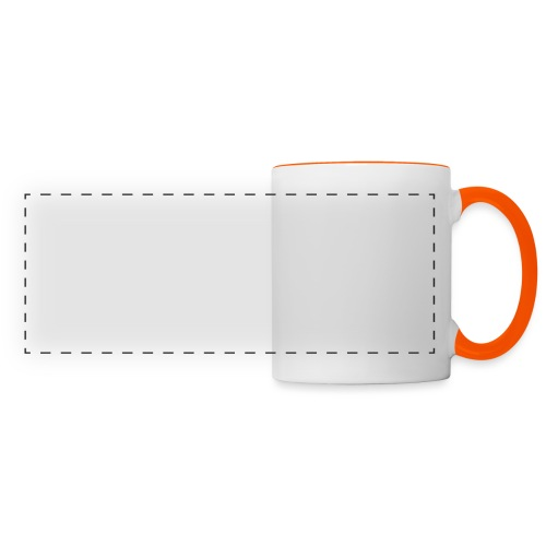Gentleman's Moustache - Panoramic Mug