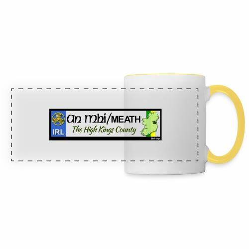 CO. MEATH, IRELAND: licence plate tag style decal - Panoramic Mug