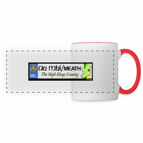 CO. MEATH, IRELAND: licence plate tag style decal - Panoramic Mug