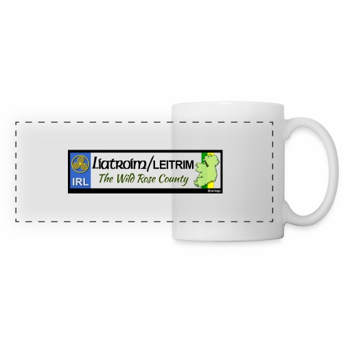 LEITRIM, IRELAND: licence plate tag style decal eu - Panoramic Mug
