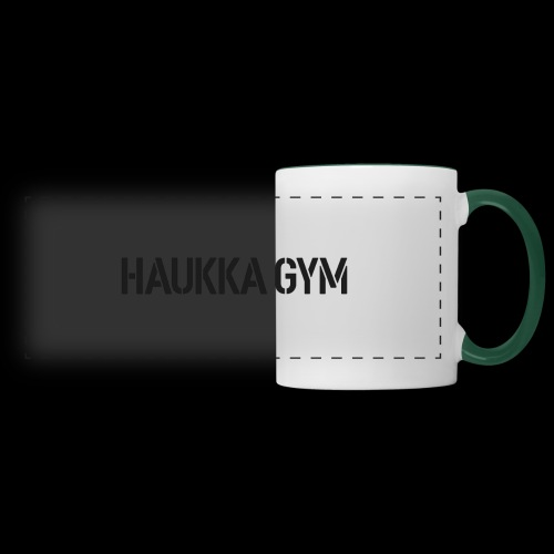 HAUKKA GYM text - Panoraamamuki