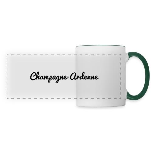 Champagne-Ardenne - Marne 51 - Mug panoramique contrasté et blanc