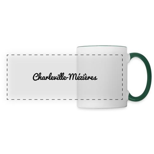 Charleville-Mézières - Marne 51 - Mug panoramique contrasté et blanc