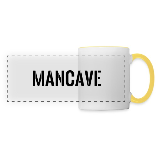 Man Cave Stencil - Panoramamugg
